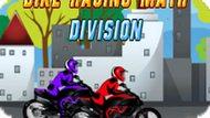 Игра Математическая Мотогонка: Деление / Bike Racing Math Division