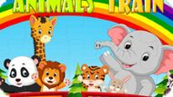 Игра Поезд Со Зверушками / Animals Train