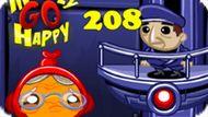 Игра Счастливая Обезьянка: Уровень 208 / Monkey Go Happy Stage 208