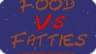 Игра Еда Против Жира: Ночной Шотландец / Food Vs Fatties Late Night Scotsman