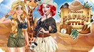Игра Принцессы: Стиль Сафари / Princess Safari Style