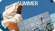 Игра Лето Мозаика / Jigsaw Puzzle Summer
