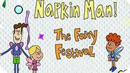 Игра Приключения Салфетки! Феерический Фестиваль  / The Adventures Of Napkin Man! The Fairy Festival