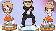 Игра Гангнам Стайл Танец