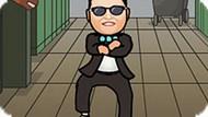 Игра Гангнам Стайл Танец 2