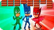 Игра Герои В Масках: Прыгающий Шарик
