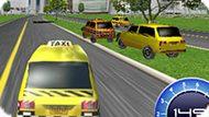 Игра Гонка На Такси 3Д