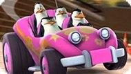 Игра Гонки Пингвинов Из Мадагаскара