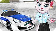 Игра Говорящая Анжела — Офицер Полиции