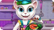 Игра Говорящая Анжела Реальный Кулинар