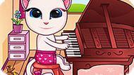 Игра Говорящая Малышка Анжела Играет На Фортепьяно