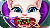 Игра Говорящий Кот: Анжела У Лор-Врача