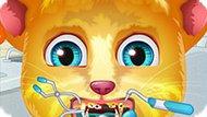 Игра Говорящий Кот Джинджер: Лечение Зубов