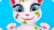 Игра Говорящий Кот: Грязная Анжела