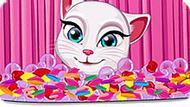 Игра Говорящий Кот: Модная Анжела