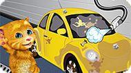 Игра Говорящий Кот Рыжик На Автомойке