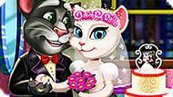 Игра Говорящий Кот: Свадьба Тома И Анжелы