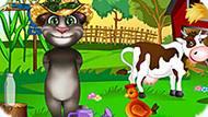 Игра Говорящий Кот Том Эксперементирует