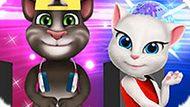 Игра Говорящий Кот Том И Анжела: Летний Багаж