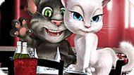 Игра Говорящий Кот Том И Анжела В День Валентина