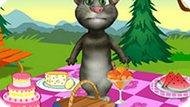 Игра Говорящий Кот Том На Пикнике