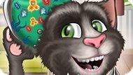 Игра Говорящий Кот Том: Операция На Ухе