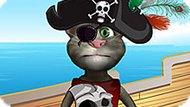 Игра Говорящий Кот Том — Пират