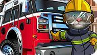 Игра Говорящий Кот Том Пожарный 2