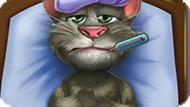 Игра Говорящий Кот Том Простудился