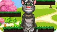 Игра Говорящий Кот Том Прыгает