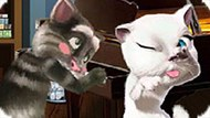 Игра Говорящий Кот Том Пукает