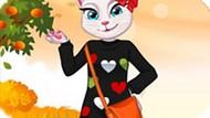 Игра Анжела: Осенняя Мода