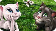 Игра Говорящий Кот Том С Анжелой И Бабочка