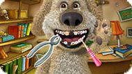 Игра Говорящий Пес Бен: Лечить Зубы