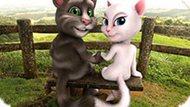 Игра Говорящий Том И Анджела: Лав Стори