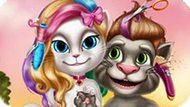 Игра Говорящий Том И Анджела: Реальный Макияж