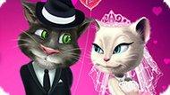 Игра Говорящий Том И Анжела Женятся