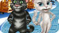 Игра Говорящий Том И Анжела: Зимние Каникулы
