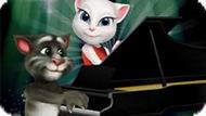 Игра Говорящий Том Играет На Пианино