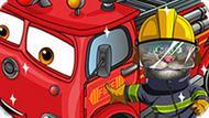 Игра Говорящий Том Моет Пожарную Машину