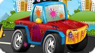 Игра Автомойка: Девушка Моет Машину