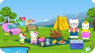Игра Хелло Китти: Семейный Пикник