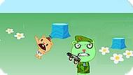 Игра Хэппи Френдс: Охота На Детеныша 3