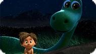 Игра Хороший Динозавр: Ловить Светлячков