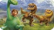 Игра Хороший Динозавр: Поиск Цифр
