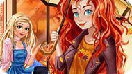 Игра Избранные Осенние Принты Мериды