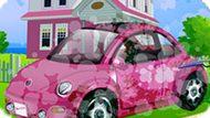 Игра Автомойка Машины Барби