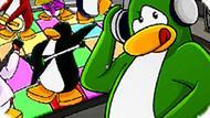 Игра Клуб Пингвинов Раскраска