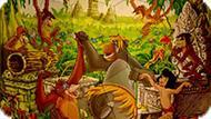 Игра Книга Джунглей: Пазлы С Маугли