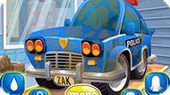 Игра Автомойка: Мыть Полицейскую Машину